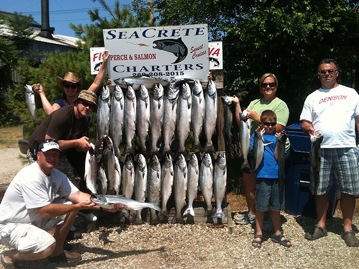 We offer multiple options to provide you with the perfect Lake Michigan Fishing Charter experience from the Port of Saugatuck, Michigan!
